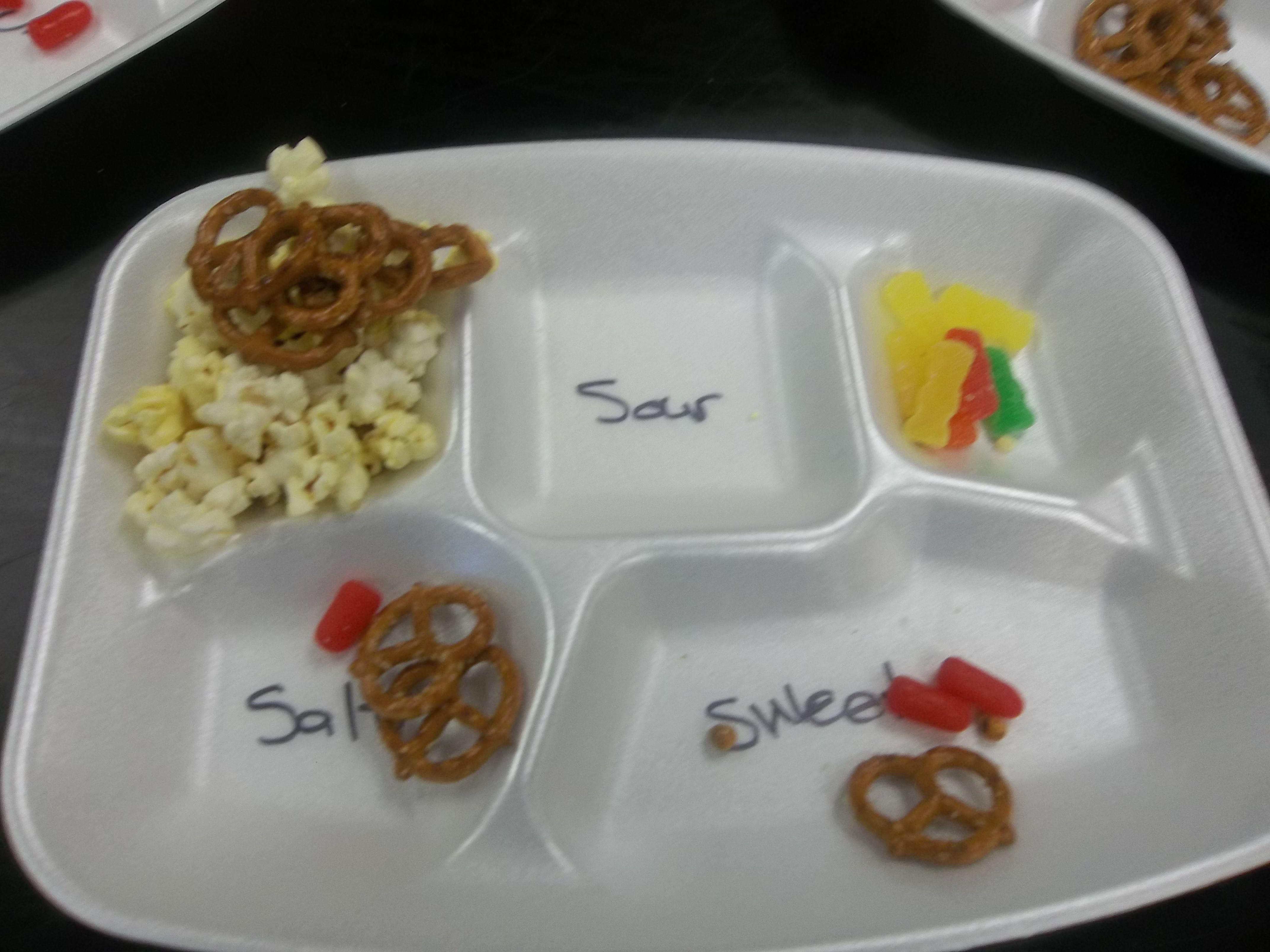 The Five Senses Food Sorting For Tasting