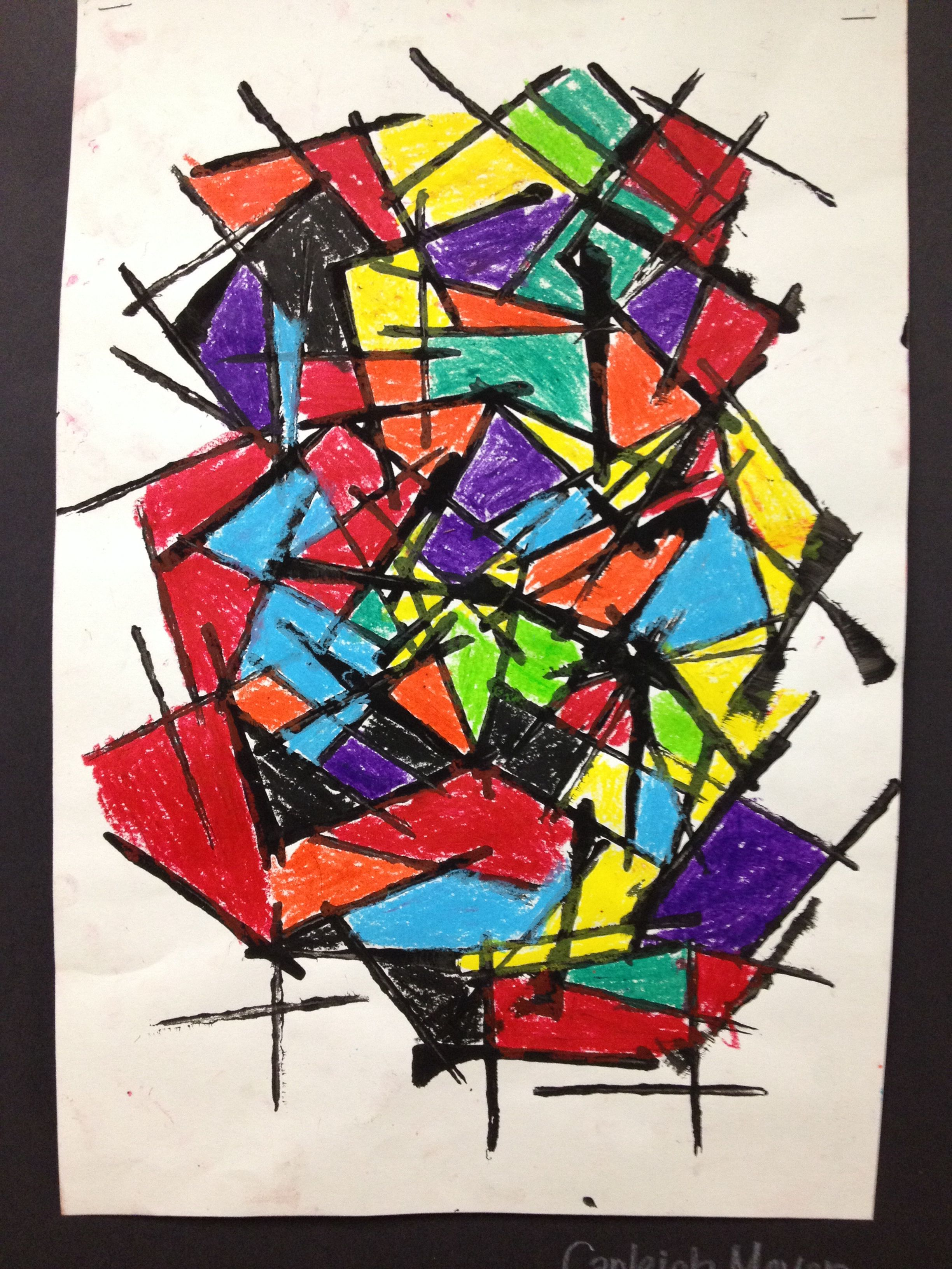 Second Grade Abstract