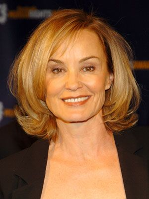 Jessica Lange's hair style