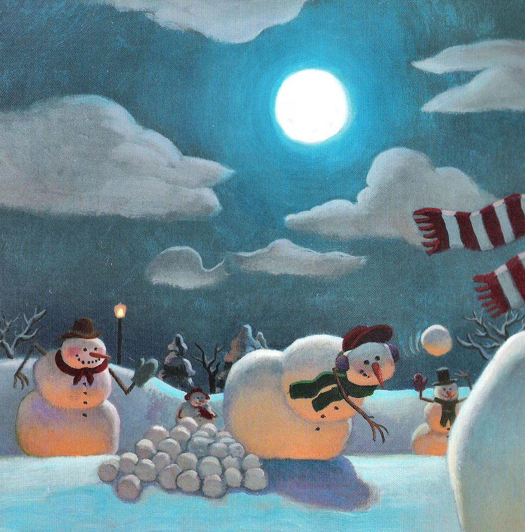 Snowmen At Night 10