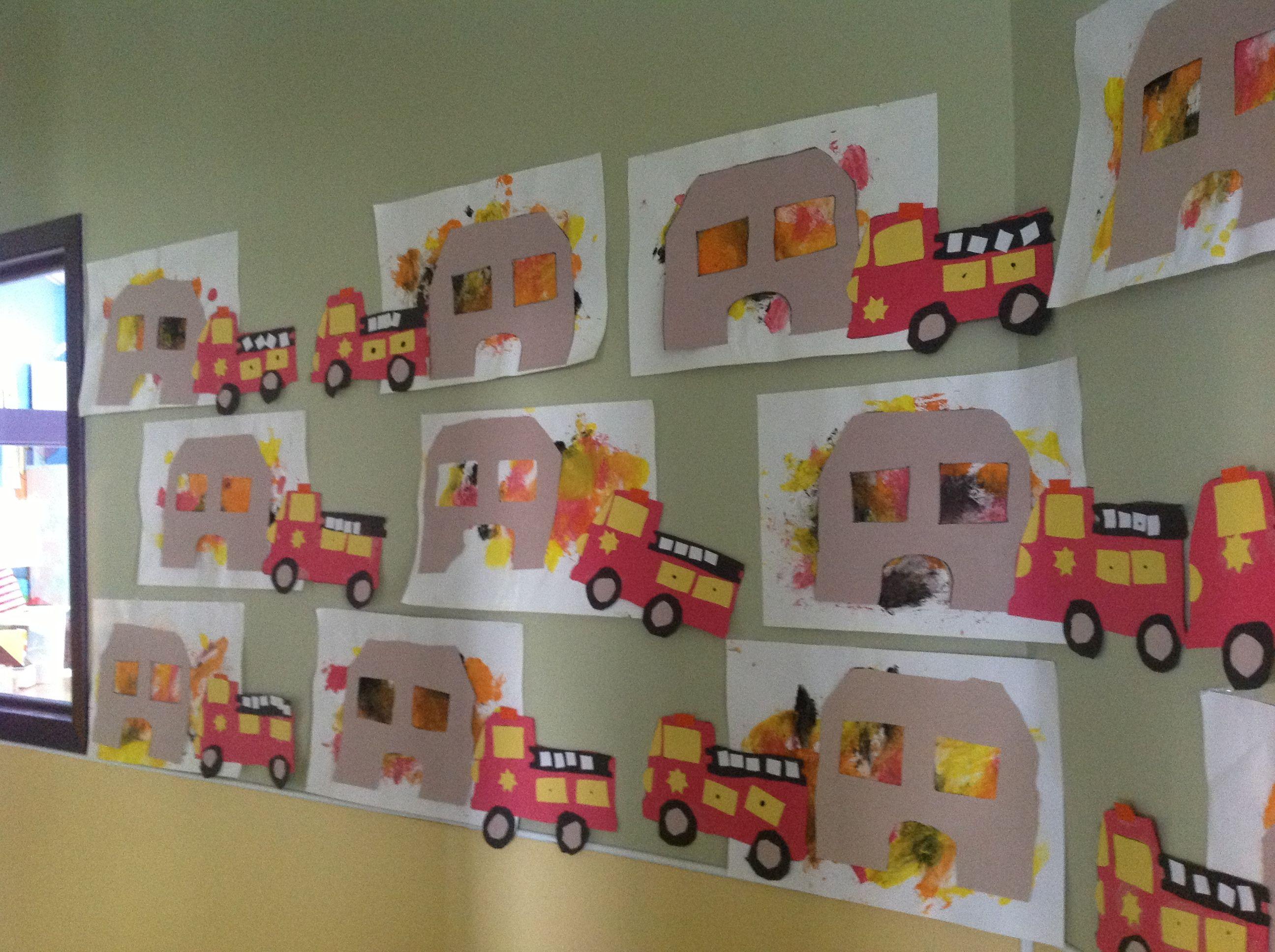 Preschool Printables Fire Safety And Preschool