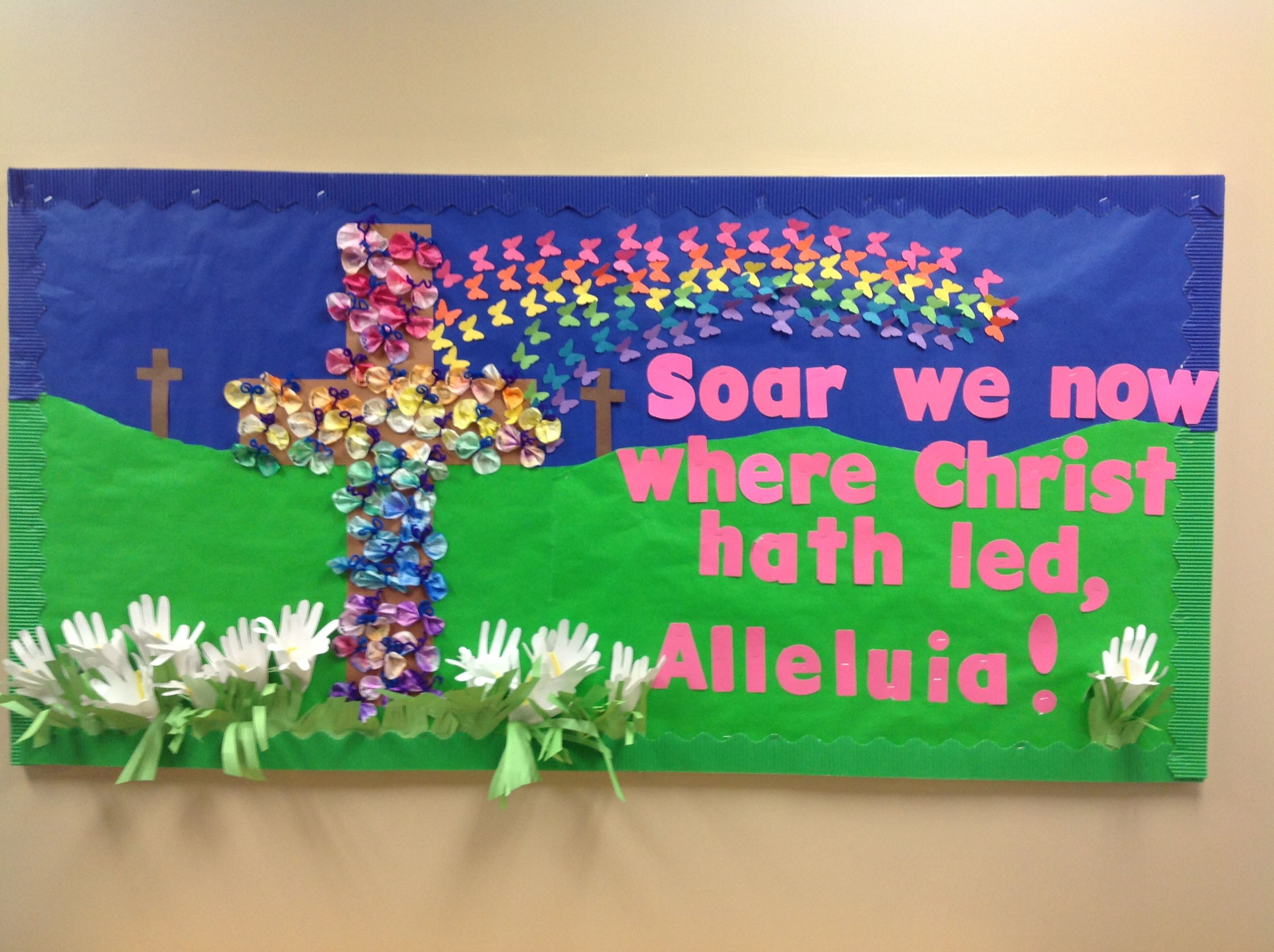 Religious Bulletin Board Ideas For Easter