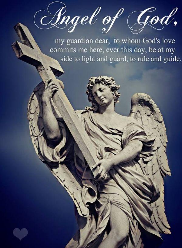 Angel of God, my guardian dear | +++PRAYER JOURNAL ...