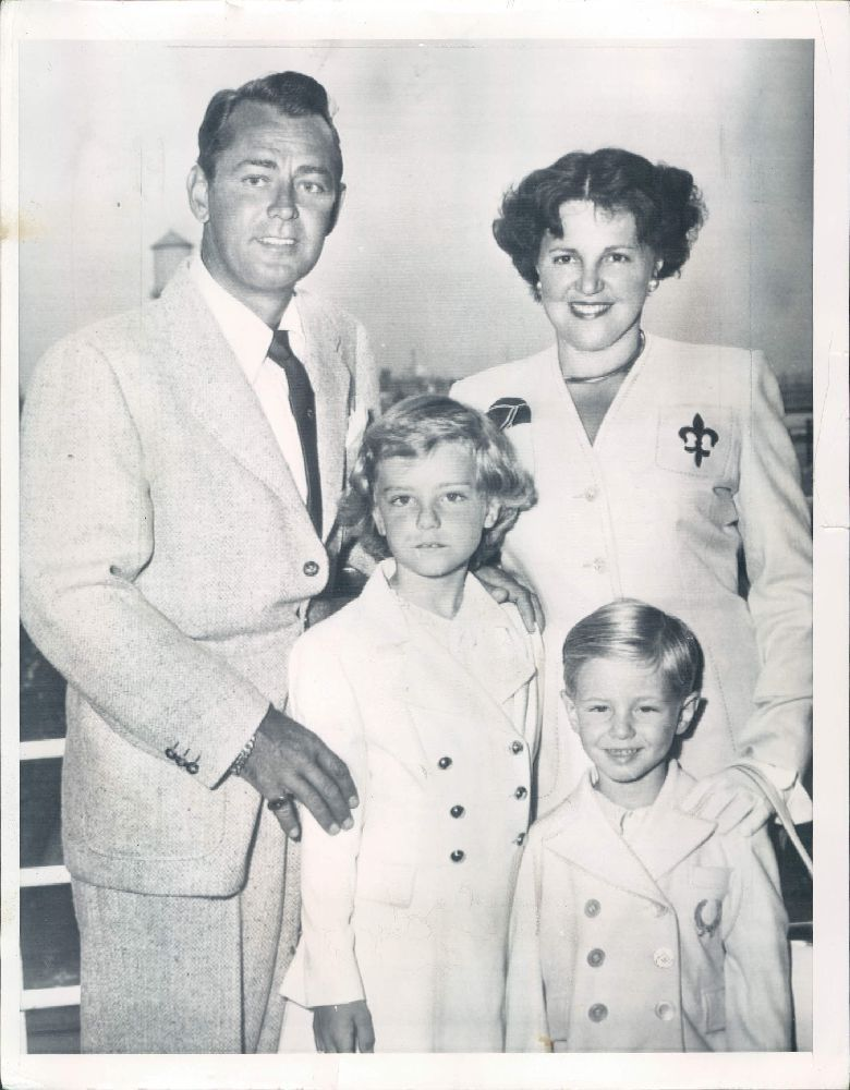 Who Was Alan Ladd Married