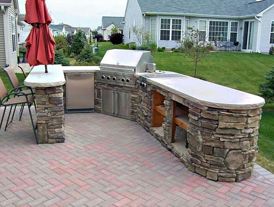 built in bbq outdoor kitchen pinterest on outdoor kitchen bbq id=97563