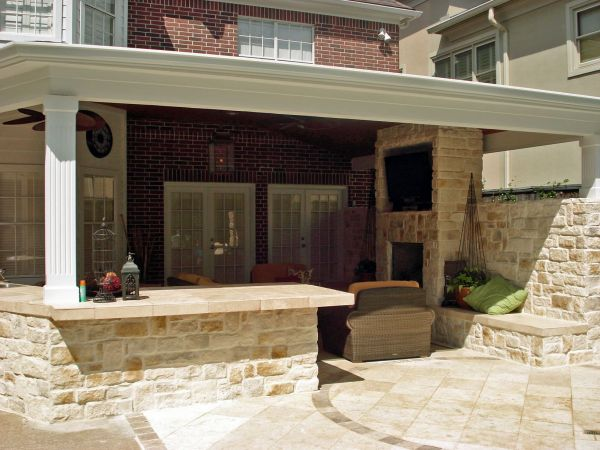 outdoor kitchen covered patio outdoor kitchen with covered patio | Building My Dream