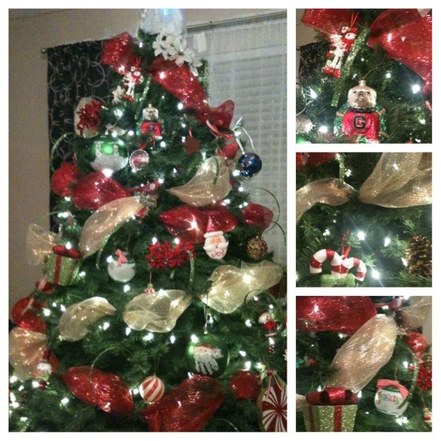 Christmas Tree Mesh Ribbon | Crafts | Pinterest