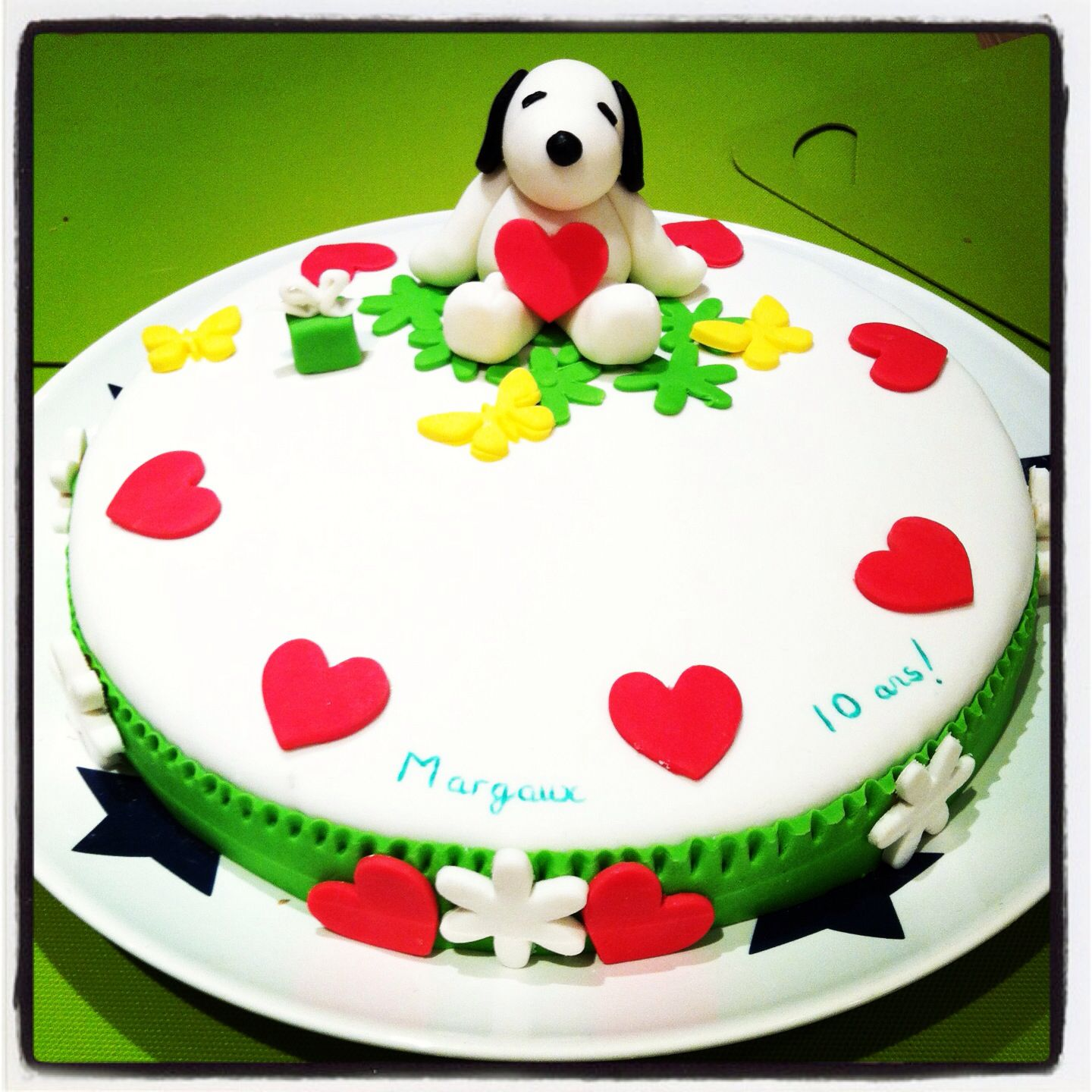 Snoopy Peanuts Birthday Cake Ideas And Designs