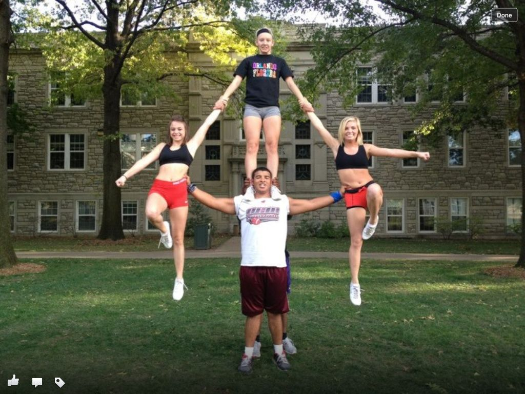 Cheerleading Stunts For 2 People