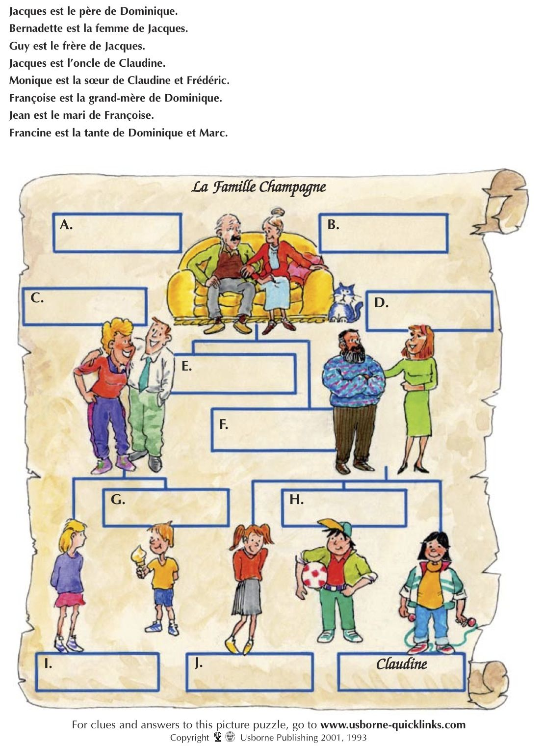 Arbre Genealogique France