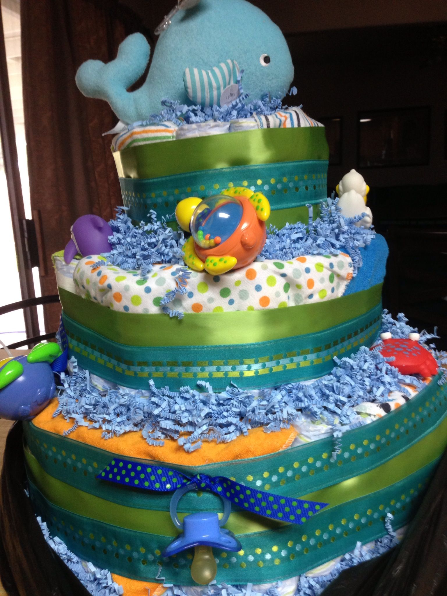 Ocean Themed Baby Cake Ideas And Designs