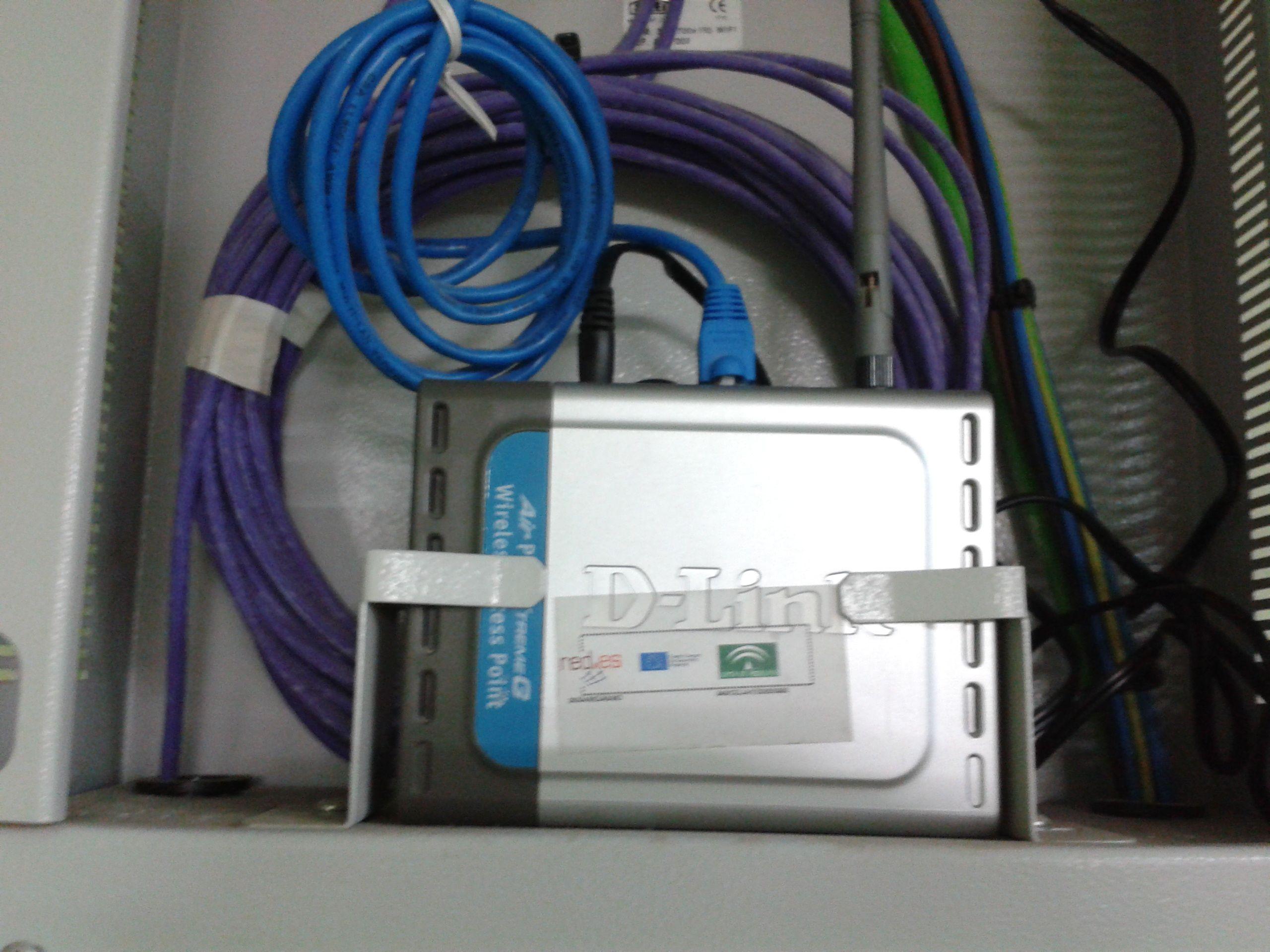 Punto de acceso TIC en el IES Albero
