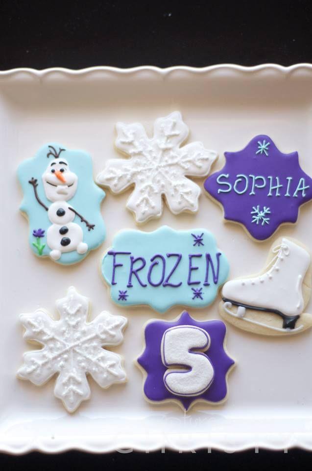 Southern Blue Celebrations Frozen Cookies