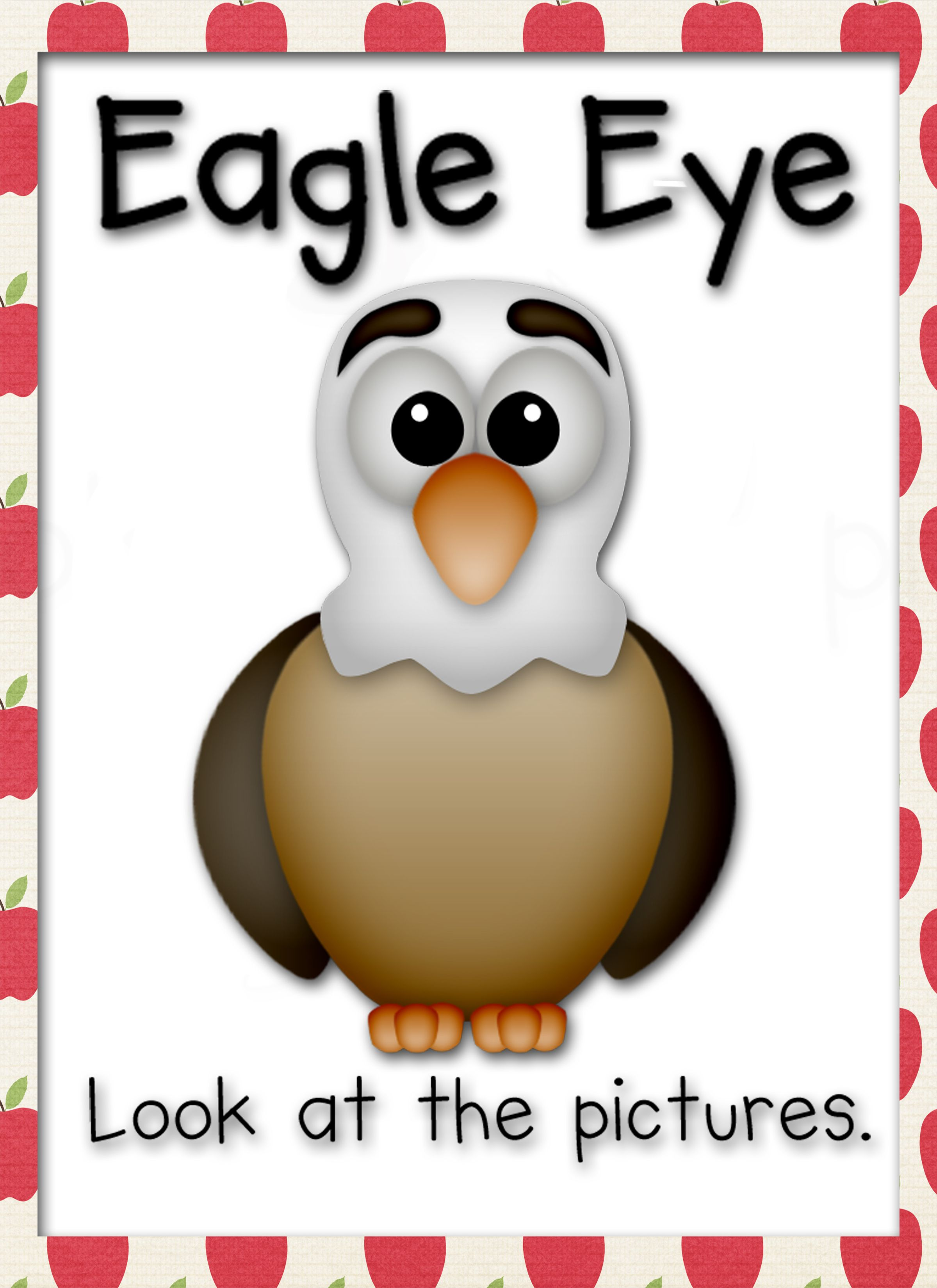 Eagle Eye Reading Strategy