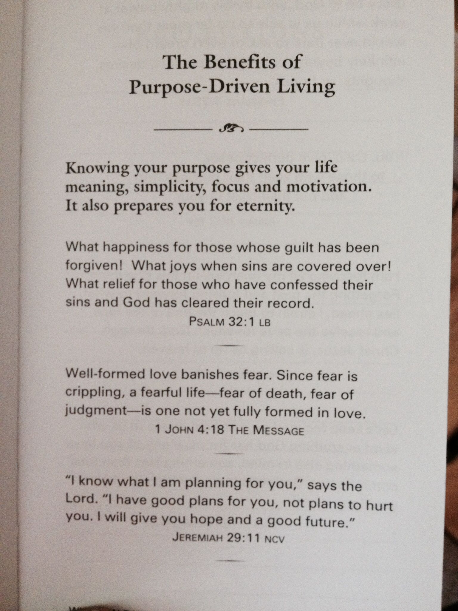 Purpose Driven Life Quotes Quotesgram