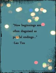 New beginnings can sometimes look like painful endings. But remember: In books, you can change the outcome for your characters.