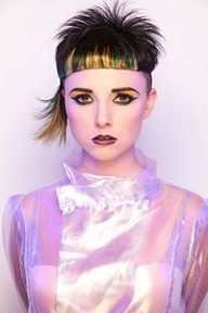 NAHA 2013 Finalist, Student Hairstylist of  the Year: Lizz Knaphus Photographer: Keith Bryce