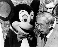 Japan's Emperor Hirohito at Disneyland; 1975