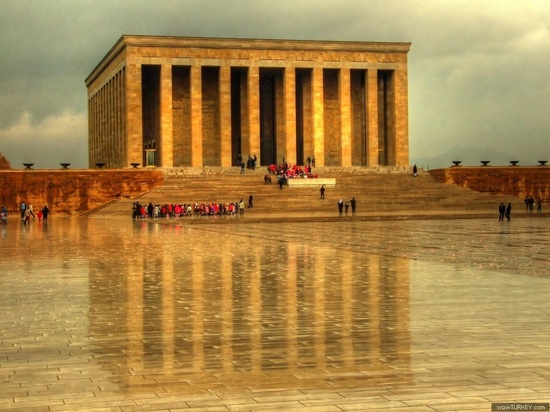 TURKEY, Ankara-Anıtkabir - the Mausoleum of ATATURK