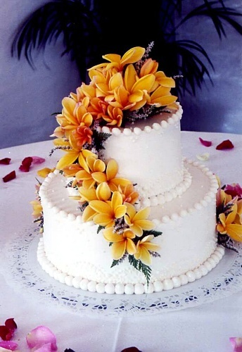 hawaiian wedding cake designs hawaiian wedding cakes hawaiian wedding ideas 15110