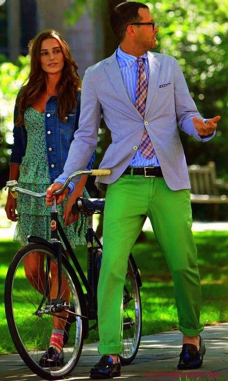 preppy style (Love the bright Colors)