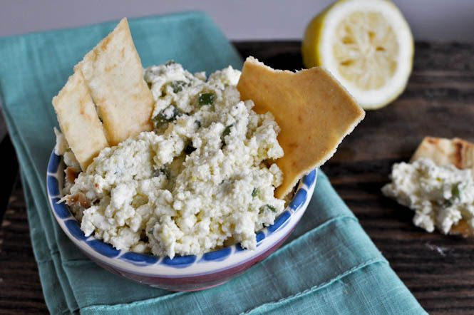 Crazy feta dip.  based off Cava's recipe!
