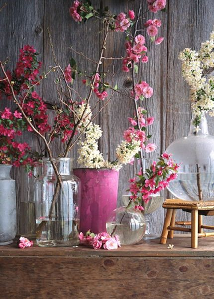 Romantic ideas for spring mood at home
