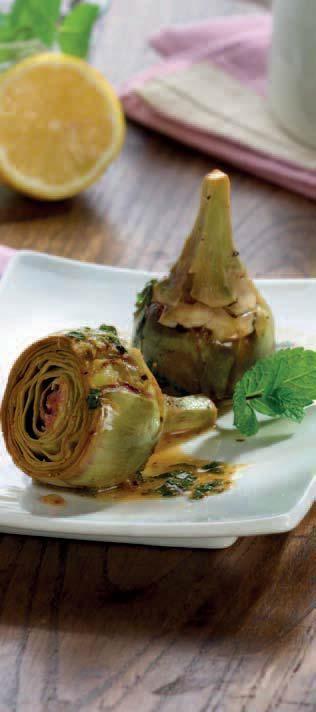 receta de alcachofas