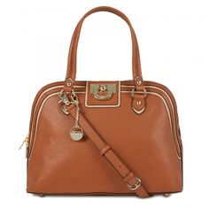 DKNY Grained leather tote