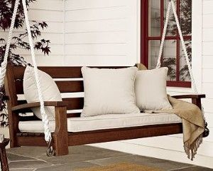 porch swing - with chain not rope