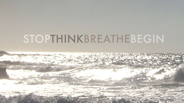 Monday Morning Motivation: Stop.Think.Breath.Begin. Free Desktop Wallpaper. #quotes #motivation #inspirational