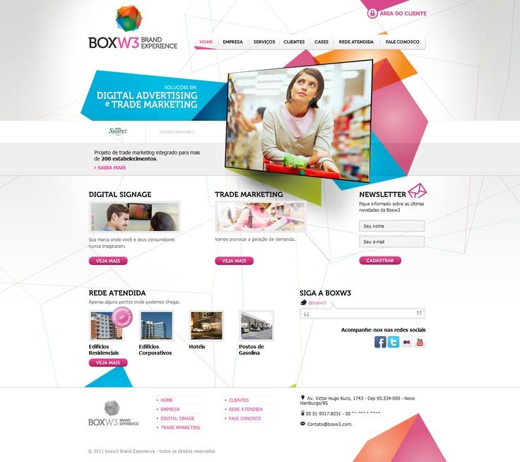 Box W3 Brand Experience web