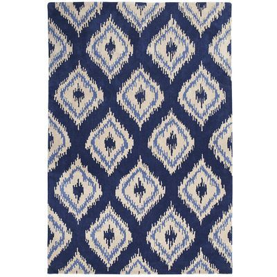 Ikat Diamond Rug