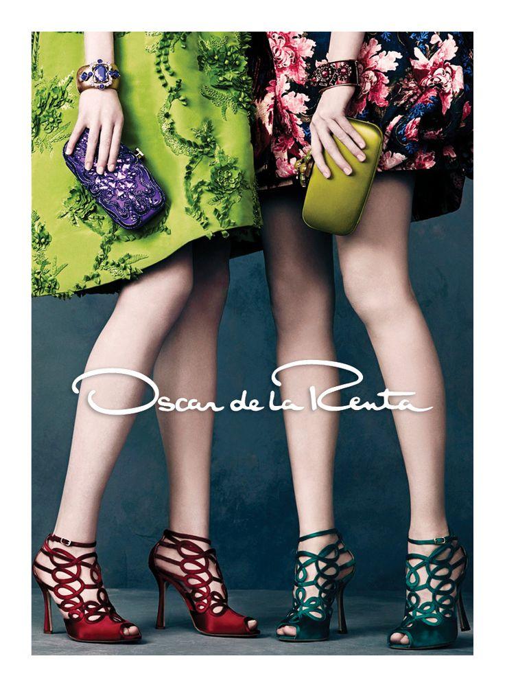 Oscar de la Renta Fall 2013 Ad Campaign