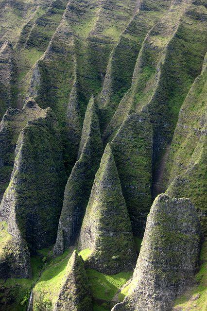 Cathedral Cliffs, Nā Pali Coast, Kaua'i