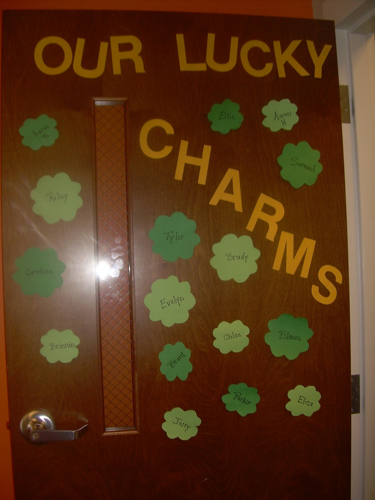 St Patrick S Day Classroom Door And Patrick O Brian On