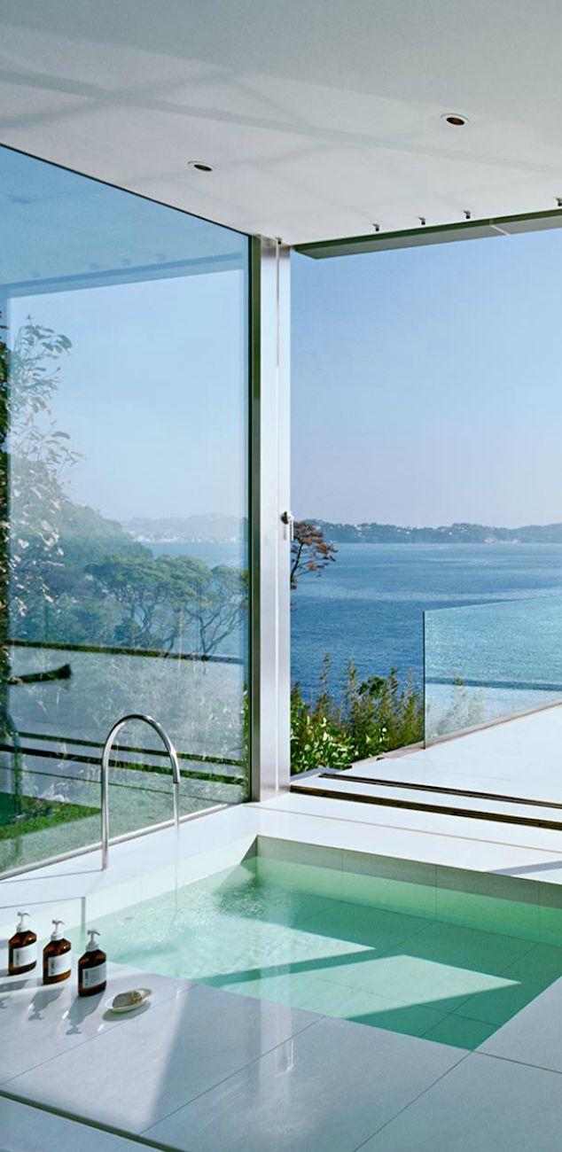 Lake House Bathtub Design Amazing Bathrooms