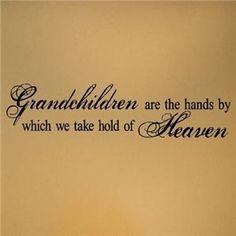 more than sayings: Grandchildren