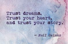 Trust Your Story.