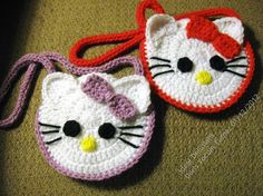 Ideal Delusions: Kitty Pocket Purse  Free Pattern