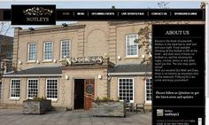 Frontlineweb website design for Notleys.net Lowestoft
