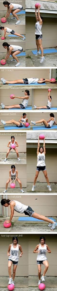 Ball workout