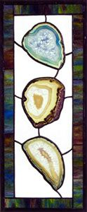 Stained Glass Agates And Geodes On Pinterest Stained