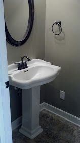 half bath on pinterest half baths small bathrooms and on best paint colors for bathroom with no windows id=16722