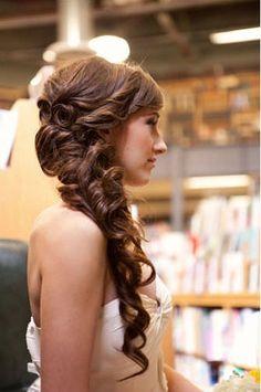side ponytail wedding on pinterest wedding side ponytails bridesmaid side ponytails and side