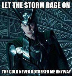 Loki/Frozen crossover