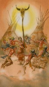 Native American Tarot - De Zon