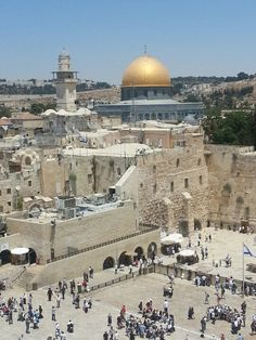 Jerusalem, Israel. I have many friends that have made the pilgrimage to go here (where Jesus was raised). Reminds me of The Christian Tradition