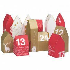 Basteln ::: Adventskalender on Pinterest Advent Calendar, Bread Box…