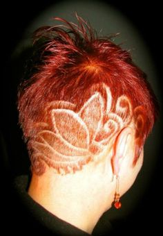 12 most awesome hair tattoos